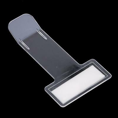 Car Vehicle Parking Ticket Permit Holder Clip Sticker Windscreen Window Y2