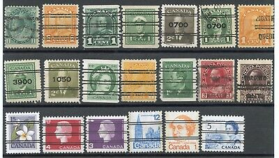 Canada Lot Precancels Used, Fine Used Stamps