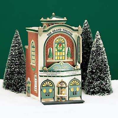 Dept 56 Christmas In The City - The Grand Movie Theater 58870 Retired Brand New