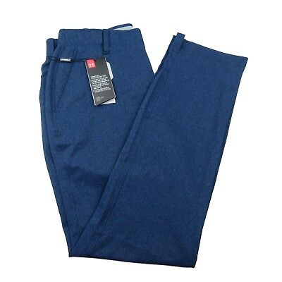 Under Armour Match Play Vented Tapered Golf Pants Size 34x32 Blue 1290160 408