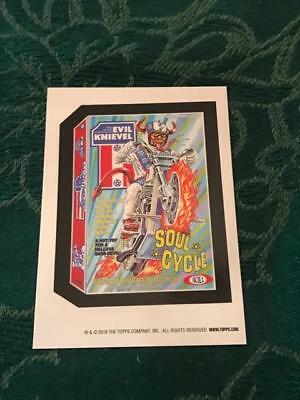 2018 Topps On Demand Wacky Packages Old School Base Set Sticker: EVIL KNIEVEL