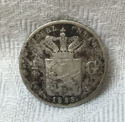 Netherlands Indies ... 1885 ... Rare Coin