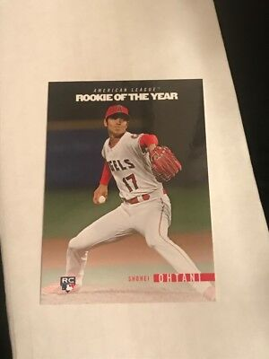 2018 Topps On Demand ROOKIE YEAR IN REVIEW SHOHEI OHTANI RC ROY INSERT #ROTY4
