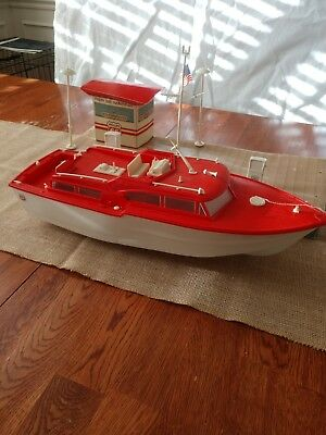 Phillips 66 Power Yacht & Marina Toy Original Boxed Set Republic Tool & Die Corp