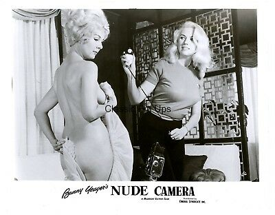 RARE Bunny Yeager Archive 1963 Original NUDE CAMERA Movie Still Photograph PinUp