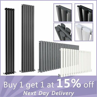 Vertical Design Radiator Oval Column Tall Upright Central Heating Radiators