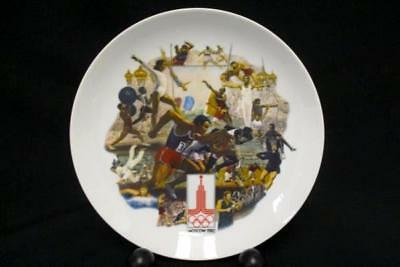 Official 1980 Olympics Summer Games Plate Moscow