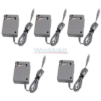 5X AC Adapter Home Wall Power Supply Charger Nintendo DSi NDSI 3DS XL LL US