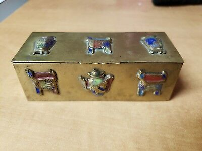 antique chinese stamp box pre-1920