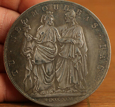 Valuable Old copper plate-silver rare collectable souvenir coin