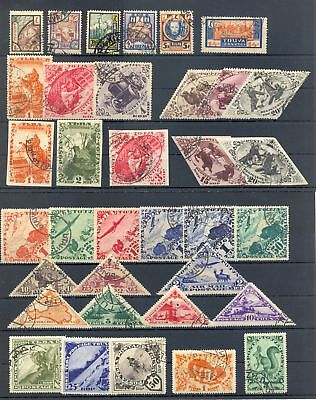 Tanna Touva 76 Stamps Collection Used Most Vf