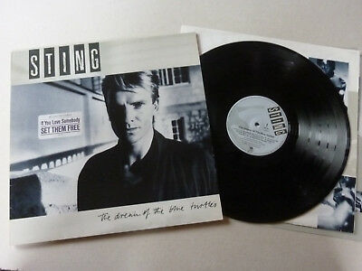Sting (Police) - Dream of the blue Turtles - LP Vinyl Polydor 393 750-1 - TOP