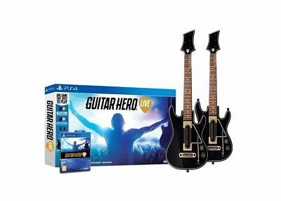 Guitar Hero Live incl 2 guitar controllers from ACTIVISION for PlayStation 4 PS4