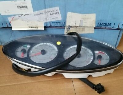 SPEEDO ASSY CLOCK DASH FOR PIAGGIO X9 125 180 200 250 Analogue instrument 639179