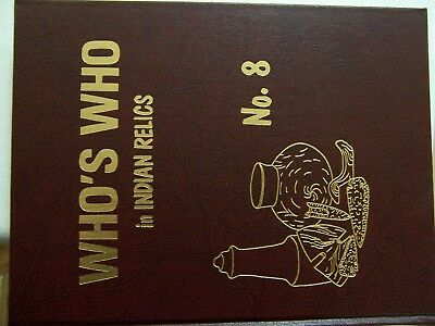 Unused First Edition Copy Of Who's Who In Indian Relics No. 8, 1992