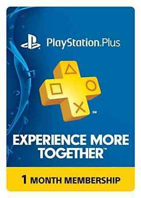 PlayStation Plus: 1 Month Membership [Digital Code] (US Code only)