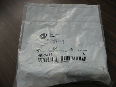 New Allen Bradley 140-CA11 Auxiliary Contact (Series A)