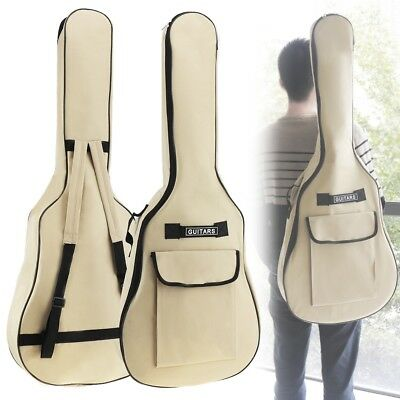 40/41 Inch 600D Padded Protective Oxford Fabric Guitar Back Bag Carry Case
