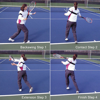 FOREHAND ROTATOR Tennis Training Aid from OnCourt OffCourt US$39 NEW