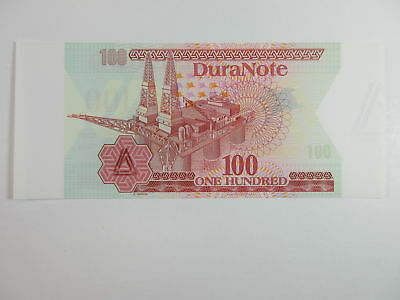 DuraNote P-NL (ca. 1980) Triangle at right and at LL Test Note Gem Unc.