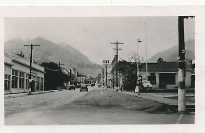 WWII 1940s Wailuku Maui Hawaii photo #8 street scene