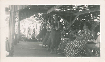 WWII 1940s Hula Girl show for Sailors Maui Hawaii photo #1