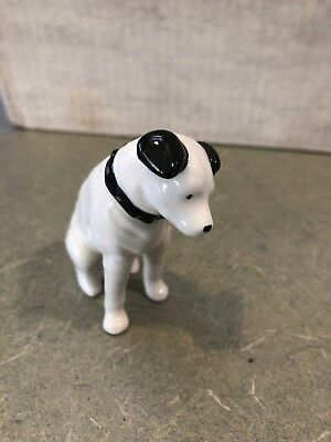 Vintage Advertising RCA Victor Nipper The Dog Porcelain Figurine 3 Inches