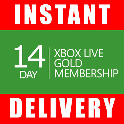 Xbox Live 14 Day Gold Trial Membership Code (2 Weeks)🔥Instant Dispatch 24/7🔥