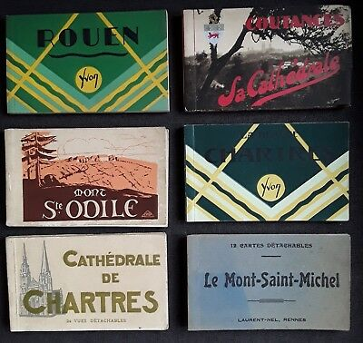 Lot Carnets Cartes Postales Anciennes  France