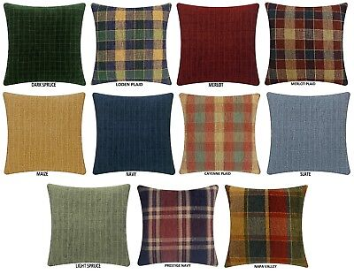 """Chenille Pillow Covers, 17"""" X 17"""" Or 20"""" X 20"""""""