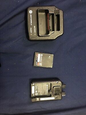 Motorola Minitor V 151-158.9 MHz VHF Fire EMS Pager with Charger