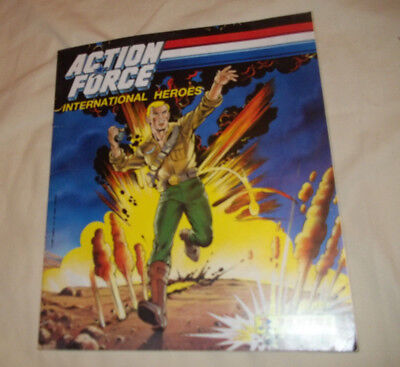 action force international heroes panini  1987