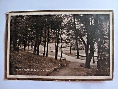 Vintage Postcard Reres Park Broughty Ferry 1925 (H)
