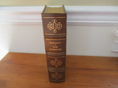 1986 EASTON PRESS THE COMEDIES by SHAKESPEARE -Leather Bound Collector's Ed