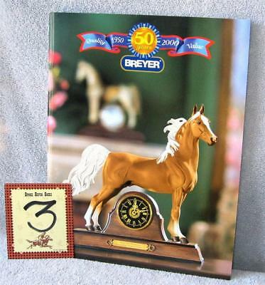 Breyer    2000 DEALERS CATALOG   ASB clock horse    Nice & Glossy  9 x 11