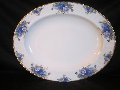 Royal Albert - MOONLIGHT ROSE - Oval Platter - 13 inch