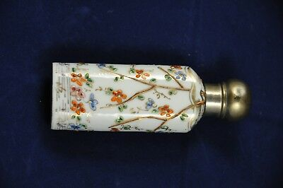 Flacon A Sels Tabatiere Ancien Antique Scent Or Snuff Bottle