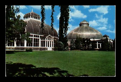 Dr Jim Stamps Us South Park Conservatory Buffalo New York View Chrome Postcard