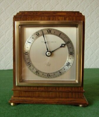 ANTIQUE CLOCK ORIGINAL SUPERB QUALITY ART DECO ELLIOT CARRIAGE CLOCK circa 1930s