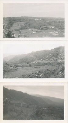 WWII 1944-5 Trip Down to Hana, Maui Hawaii  NASP sailor's 3 photos