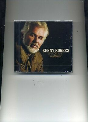 Kenny Rogers - 21 Number Ones - New Cd!!