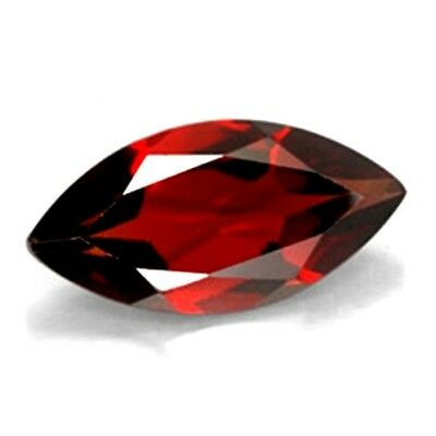 Beautiful 10x5mm Marquise Natural Mozambique Garnet Loose Calibrated Gemstone
