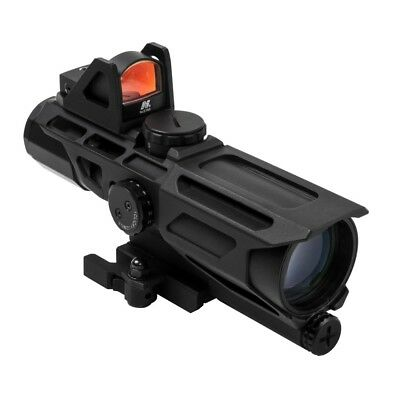 NcStar Ultimate Sight System Gen III 3-9x40 Scope with Red Dot - VSTP3940GDV3