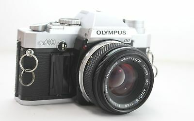 OLYMPUS OM30 Camera With Olympus 50mm f/1.8 OM Mount Lens - O04