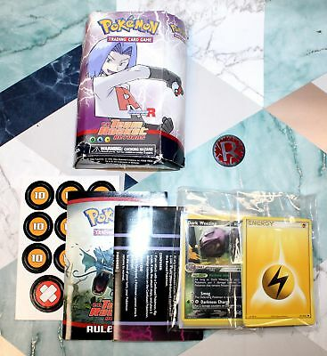 POKEMON Trading Card Game Team Rocket Returns JAMES R 2004 - Y99
