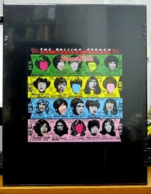 """THE ROLLING STONES Some Girls (2-CD, DVD, 7"""" Vinyl + 100 page Book) BRAND NEW"""