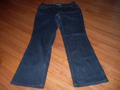 Womens Lane Bryant Distinctly Boot Stretch Jeans Size 16 Tall Red Triangle