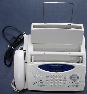 Intellifax 775 Brother Combo fax copier phone Works Fine Used Mild Wear Dust Vin