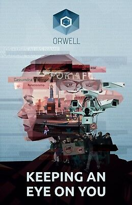 Orwell: Keeping an Eye On You (PC Game - Digital Steam Key) Fast Delivery