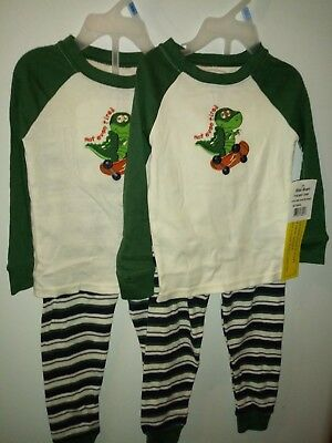 Toddler boys Lot of two 2 pcs set sleepwear sz 24 months Faded Glory multicolor